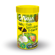 Baby Fish Spirulina & Garlic-100ml