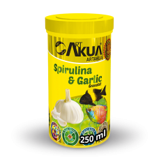 Spirulina & Garlic granulat-250ml